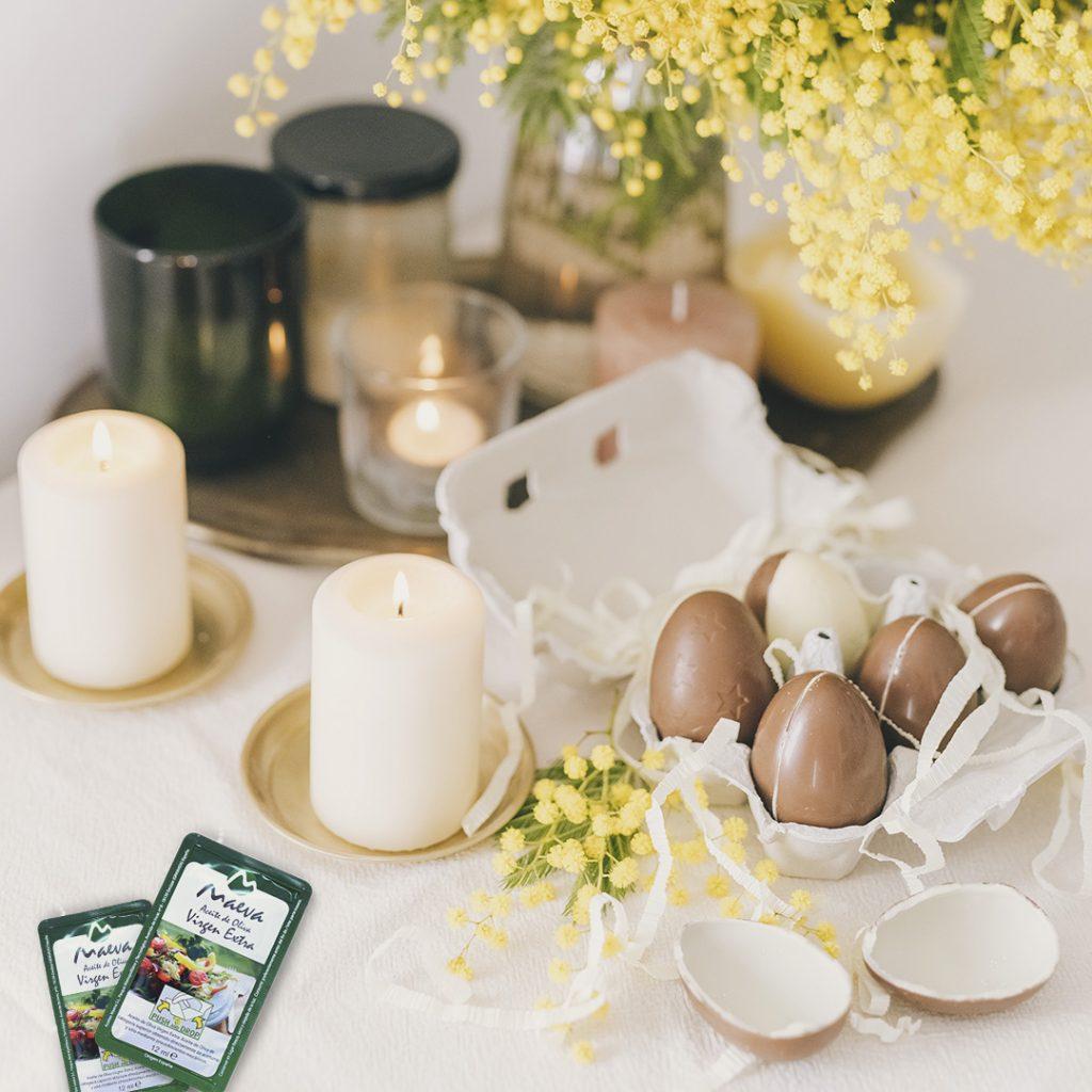 Receta Huevos de Pascua sin molde